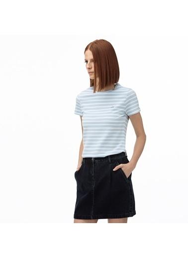 Lacoste Kadın  Tişört TF0823.23T Mavi